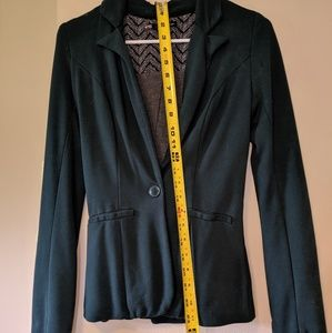Maurices Dark Green XS Blazer